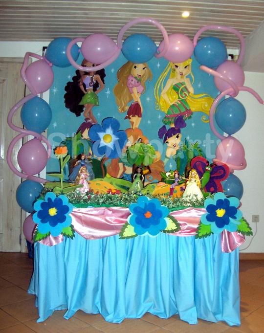 Decoração Winx ~ Showparty u2013 Decoraç u00e3o de festas de Aniversário e outras festas